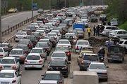 ترافیک روان و پر حجم در جاده های مازندران