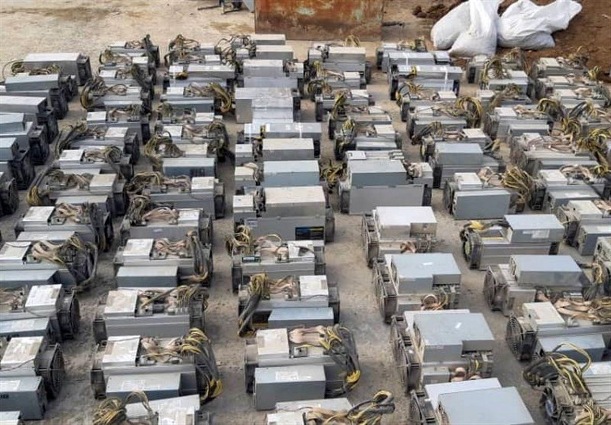 کشف ۱۰۶ دستگاه استخراج ارز دیجیتال در تایباد