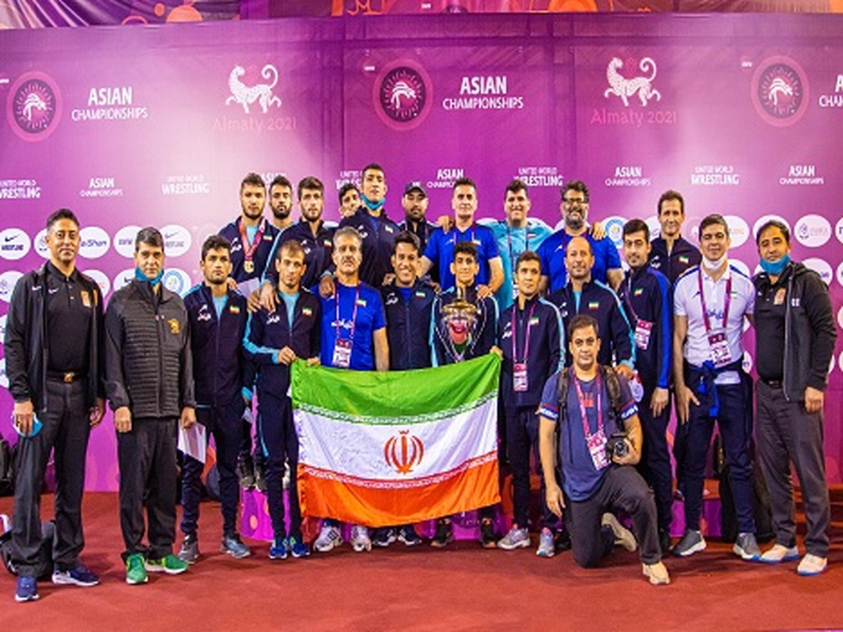 تیم ملی کشتی فرنگی با حمایت همراه اول قهرمان آسیا شد