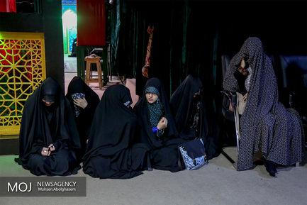 وداع با پیکر شهید مدافع حرم علیرضا اکبری