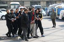 دستگیری 18 متهم در طرح ضربتی مقابله با اخلال گران نظم عمومی