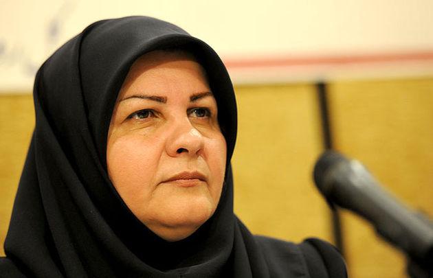 نتیجه تصویری برای مرضیه شاهدایی در مراسم افتتاحیه نمایشگاه صنعت حفاری خوزستان