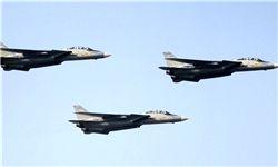 حضور جنگنده های آمریکایی در غرب موصل