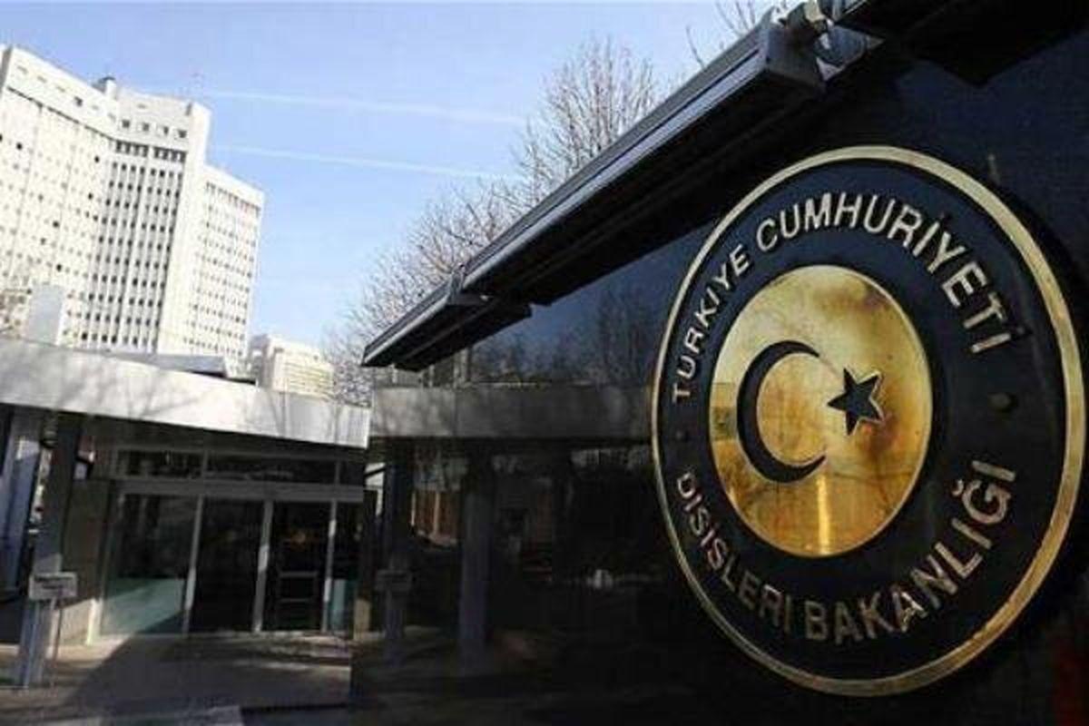 واکنش وزارت خارجه ترکیه به اعمال تحریم علیه آنکارا از سوی واشنگتن