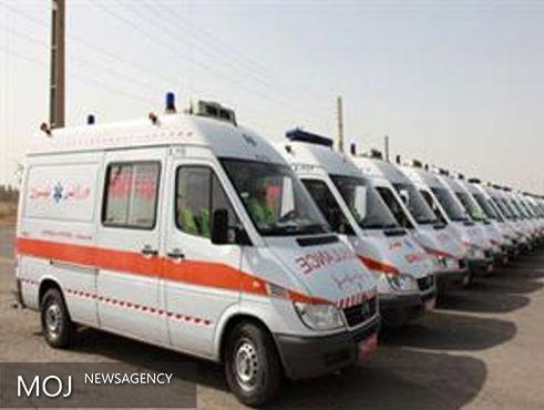 ۱۶۰۰ دستگاه آمبولانس به ناوگان اورژانس اضافه شد