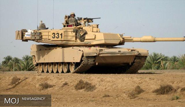 حضور تانکها و نظامیان آمریکایی در رژه نظامی مشترک با لهستان
