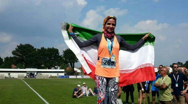 کسب دومین طلای بانوی سپاهانی در مسابقات جهانی شرکت ها در فرانسه