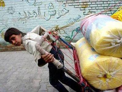 ساماندهی 234 کودک کار تبعه خارج که به تهران قاچاق شده اند