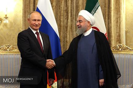 دیدار حسن روحانی با روسای جمهوری آذربایجان و روسیه