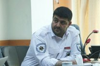 امداد رسانی به 93نفر در مراسم تشییع شهید حججی
