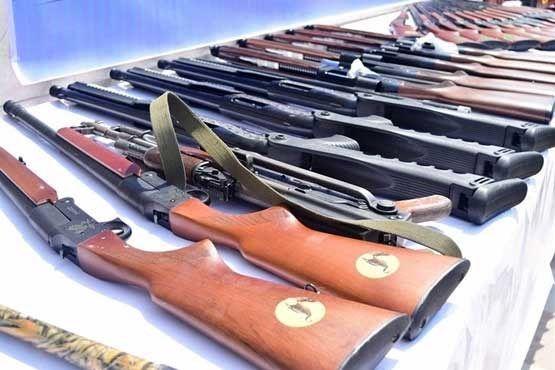 انهدام ۱۳ باند تهیه، ورود و توزیع سلاحهای جنگی و شکاری