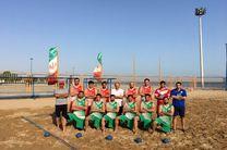سومی هندبال ساحلی در آسیا/ راهیابی ایران به رقابتهای جهانی ۲۰۱۸