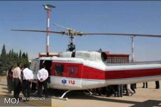 خدمت رسانی اورژانس هوایی لرستان به ۵۶ مصدوم و بیمار در مناطق محروم در تیر