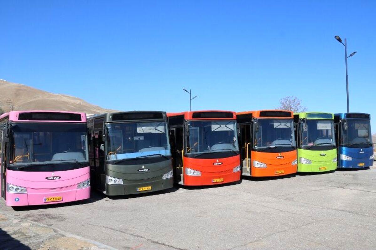 افزودن ۳۰ دستگاه اتوبوس به ناوگان حملونقل عمومی
