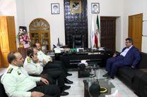 نیروی انتظامی و شهرداری دو بازوی توانمند امنیت شهروندان هستند