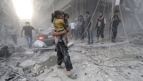 کودکان بیسرپرست بزرگترین قربانیان جنگ سوریه هستند