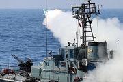 شلیک موشک سطح به سطح نصر در رزمایش مشترک ذوالفقار ارتش ۹۹