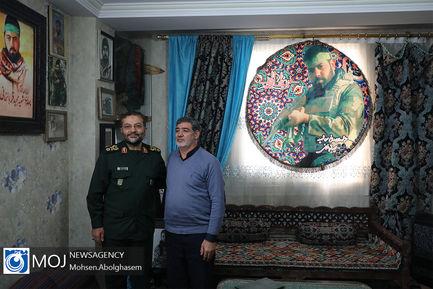 دیدار+سردار+سلیمانی+رییس+بسیج+با+خانواده+شهید+قربانخانی (1)
