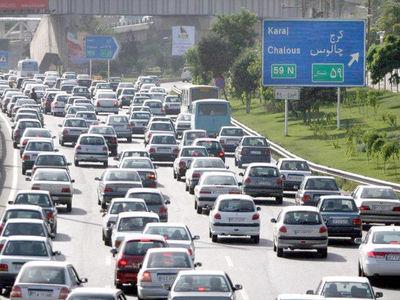آخرین وضعیت جوی و ترافیکی جاده ها/ ترافیک نیمه سنگین در محورهای غرب تهران