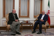 دیدار نماینده ویژه رییس جمهوری افغانستان با ظریف