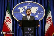 قاسمی: سفر غیرمنتظره یک مقام اتحادیه اروپا به ایران صحت ندارد