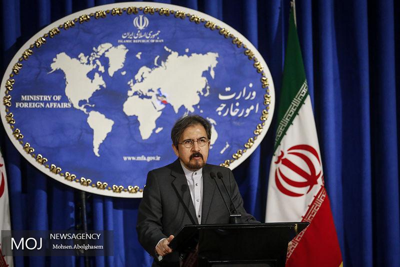 سخنگوی وزارت امور خارجه با دولت و ملت سوریه ابراز همدردی کرد