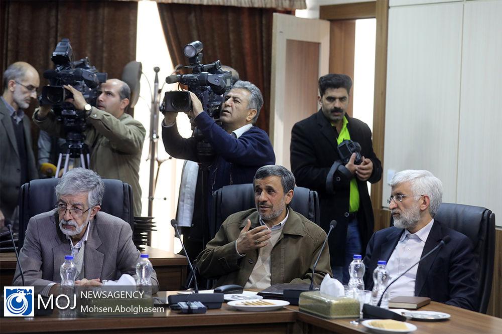 حضور دکتر احمدی نژاد در جلسه مجمع تشخیص مصلحت نظام + تصاویر