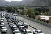 ترافیک سنگین در محور ایلام - مهران