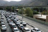 آخرین وضعیت ترافیکی جاده ها/ترافیک نیمه سنگین در آزادراه تهران-کرج