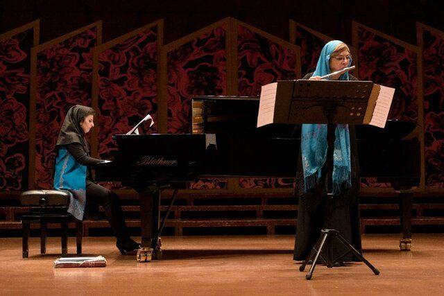 اجرای شب فلوت و پیانو در سالن رودکی