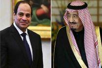 گفت وگوی تلفنی پادشاه عربستان با رئیس جمهوری مصر