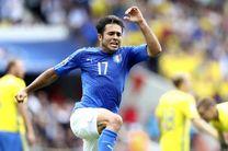ایتالیا با پیروزی دیرهنگام مقابل سوئد صعود کرد