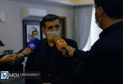 استقبال صالحی از وزیر ارشاد دولت سیزدهم