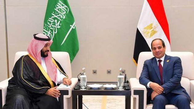 محمد بن سلمان و سیسی در مورد تحکیم روابط دوجانبه گفتگو کردند