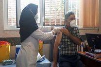 تزریق واکسن کرونا برای مدافعان سلامت هلال احمر اردبیل