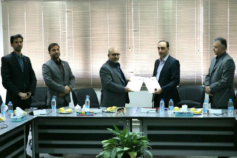 انعقاد توافق نامه همکاری بین شرکت شهرک های صنعتی فارس و دانشگاه فنی و حرفه ای استان
