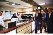 بازدید شبانه وزیربهداشت از بیمارستان لقمان/ دستور هاشمی برای تأمین کمبودهای بیمارستان