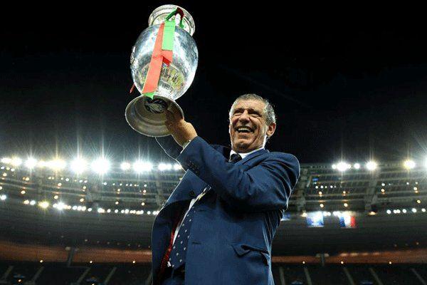 تمدید قرارداد فرناندو سانتوس با پرتغال تا یورو ۲۰۲۰