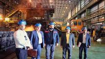 حمایت بانک ایران زمین از بهره برداری خط تولید جدید شرکت فولاد اکسین اهواز