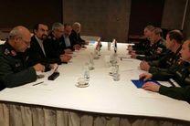 سرلشکر باقری با رئیس ستاد کل ارتش روسیه دیدار کرد