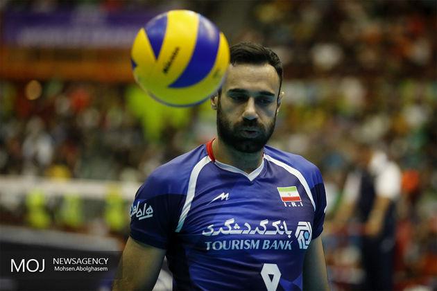 عادل غلامی از تیم ملی والیبال کنار گذاشته شد