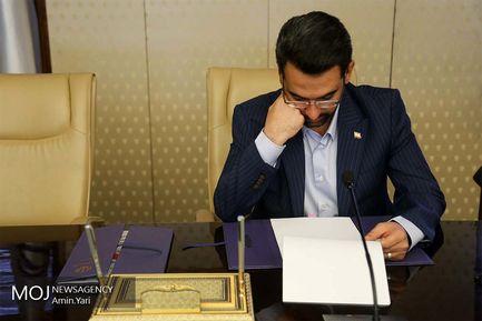 محمدجواد آذری جهرمی وزیر ارتباطات و فناوری اطلاعات