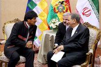 برگزاری مستمر کمیسیون مشترک همکاری های ایران و بولیوی میتواند توسعه مناسبات را تسریع کند