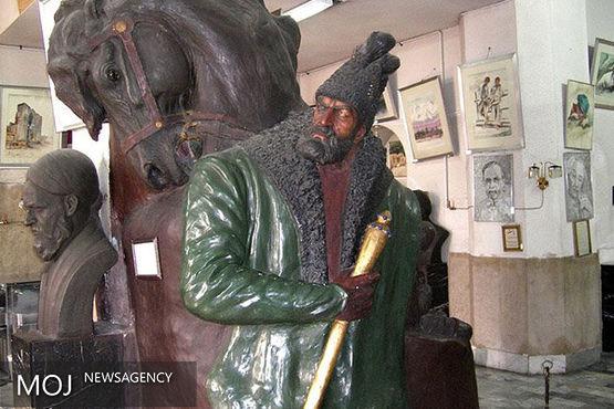 مجسمه های موزه علی اکبرخان صنعتی ترمیم و احیا میشوند