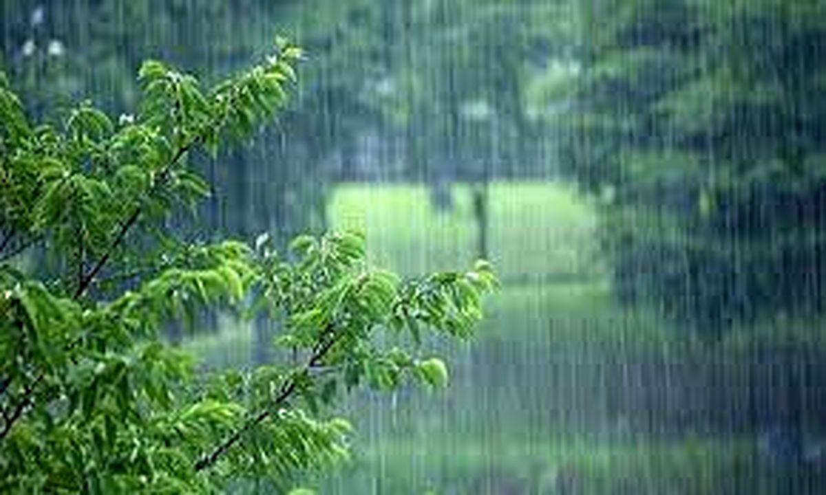پیش بینی بارش باران و وزش باد در استان