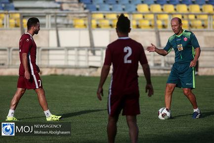 تمرین تیم فوتبال پرسپولیس - ۱۵ تیر ۱۳۹۸