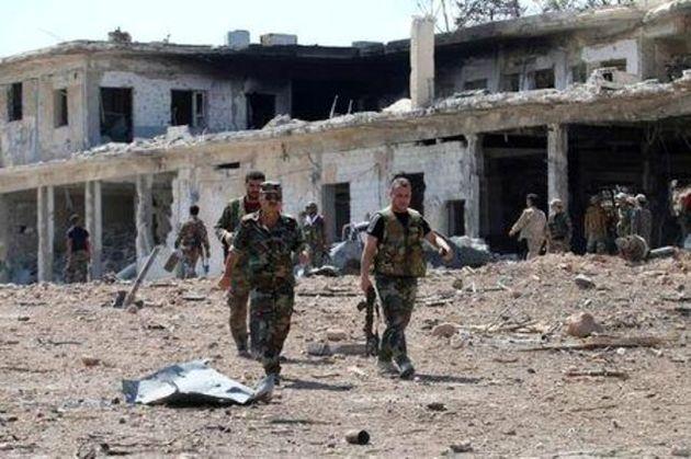 ارتش سوریه تجهیزات جدید به حماة فرستاد/کشته شدن 150 تروریست در شرق دمشق