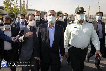 بازرسی از اقدامات مبارزه با مواد مخدر در تهران