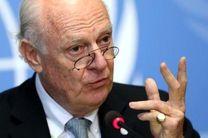 دیمیستورا: مذاکرات ژنو بر انتقال سیاسی متمرکز است/ با اسد برگزاری انتخابات در سوریه ممکن نیست