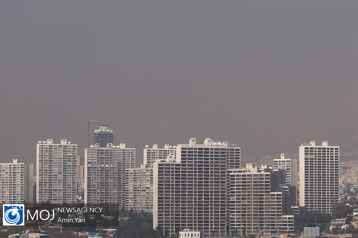 کیفیت هوای تهران ۶ بهمن ۹۹ /شاخص کیفیت هوا به ۱۱۹ رسید